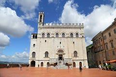 Дворец консулов Wonderfull в Gubbio Умбрия Стоковая Фотография RF