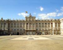 дворец королевская Испания madrid стоковое изображение rf