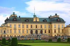 дворец королевский stockholm сада Стоковое Изображение