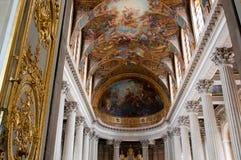 дворец королевский versailles молельни Стоковые Изображения RF