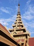 дворец королей mandalay Стоковые Изображения