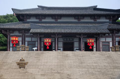 Дворец королевства Wu реплики стоковое фото rf