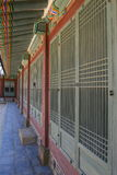 дворец корридора нутряной корейский Стоковое фото RF