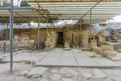 Дворец Крит Knossos Стоковые Изображения RF