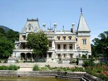 Дворец Крым Massandra Стоковые Фото