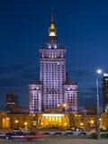 Дворец культуры и науки в Варшава Стоковые Фото
