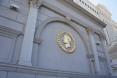 Дворец Лас-Вегас Caesars Стоковые Изображения RF