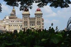 Дворец Майсура, Майсур, Karnataka стоковая фотография rf