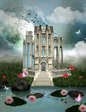 Дворец мечт иллюстрация вектора