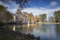 Дворец озера кристаллический Стоковое Изображение RF