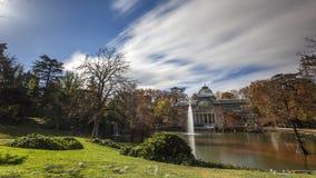 Дворец озера кристаллический Стоковая Фотография RF