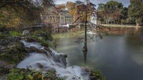 Дворец озера кристаллический Стоковое Фото