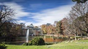 Дворец озера кристаллический Стоковая Фотография