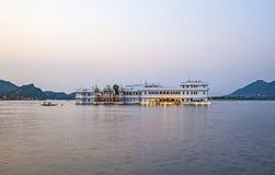 Дворец озера, Udaipur Раджастхан Стоковое Фото