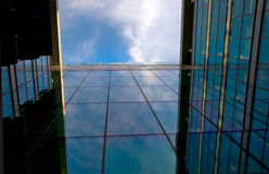 Дворец офиса Стоковые Фото