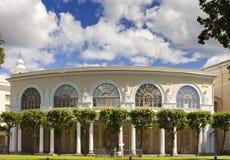 Дворец Павловска, 18 столетие, русская имперская резиденция около Санкт-Петербурга, России стоковые фотографии rf