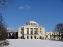 Дворец Павловска Взгляд собора Андрюа апостола Россия Стоковая Фотография RF