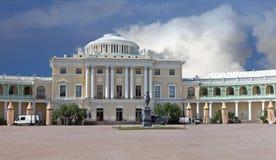Дворец Павловска в России стоковые фото