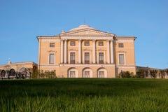 Дворец Павловска, 18 столетие, русская имперская резиденция около Санкт-Петербурга, России стоковая фотография rf
