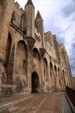 Дворец Пап - Авиньон - Провансаль стоковые изображения
