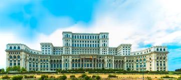 Дворец парламента, Бухарест, Румыния. стоковые фотографии rf