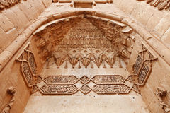 Дворец паши Ishak, деталь - Турция Стоковые Фото