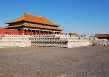 дворец Пекин запрещенный городом Стоковое Фото
