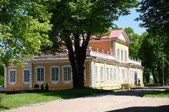 Дворец Питера большой в Strelta, Санкт-Петербурге, России стоковая фотография