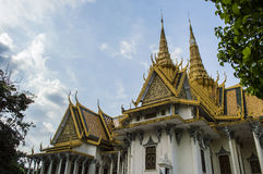 Дворец Пномпень Камбоджа короля Стоковые Изображения