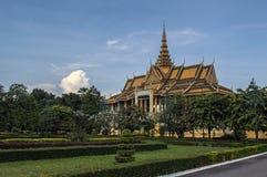 Дворец Пномпень короля Стоковая Фотография