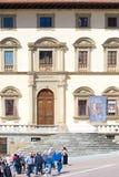 Дворец положения Fraternity, Ареццо, Италии стоковые изображения rf