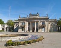 дворец Польша warsaw lazenki Стоковое Изображение
