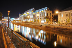 Дворец правосудия в Бухаресте Стоковое Изображение