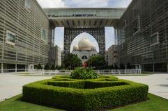 Дворец правосудия в Путраджайя, Малайзии стоковое изображение