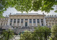 Дворец правосудия на ½ ¿ Ile de Ла Citï на Париже Стоковые Изображения