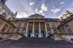 Дворец правосудия - Парижа, Франции Стоковые Изображения