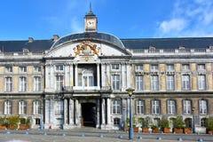 Дворец Принц-епископа, Liege, Walloon зона Бельгии стоковые фотографии rf