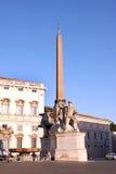 Дворец Рим Италия Quirinal Стоковое Изображение RF