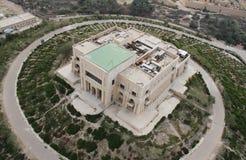 Дворец ` Саддама Хусейна дезертированный s Стоковая Фотография RF