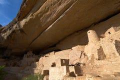 Дворец скалы, национальный парк мезы Verde Стоковое Фото