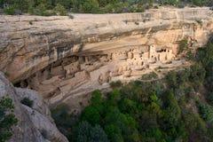 Дворец скалы, национальный парк мезы Verde Стоковая Фотография