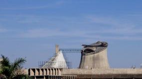 Дворец собрания или законодательной ассамблеи, Чандигарха, Индии Стоковые Фотографии RF