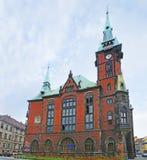 Дворец с clocktower Стоковая Фотография