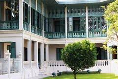Дворец Таиланда традиционный Стоковые Изображения