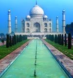 Дворец Тадж-Махала в Индии, индийском виске Тадж-Махале стоковые изображения
