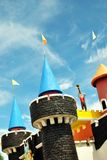 Дворец тематического парка Стоковые Фото