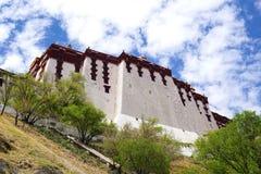 Дворец Тибет Китай Potala Стоковая Фотография RF