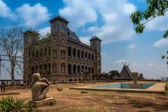 Дворец ферзя, Антананариву, Мадагаскар Стоковые Фотографии RF