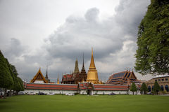 Дворец ферзя Таиланда Стоковые Изображения RF