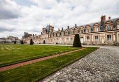 Дворец Фонтенбло, Франция Стоковые Изображения RF